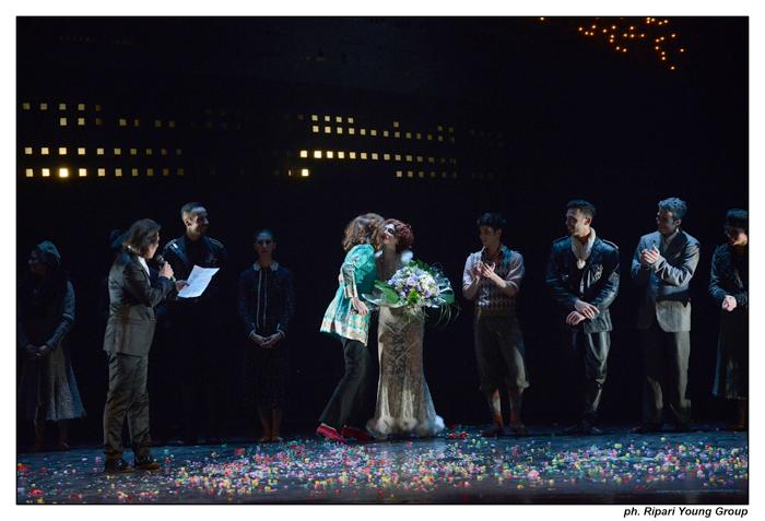 AMARCORD Teatro Olimpico del 17.04.2014 con ROSSELLA BRESCIA e N