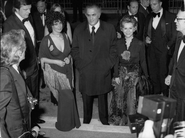 Federico Fellini  Federico Fellini  Giuletta Masina, Federico Fellini, Magali Noël