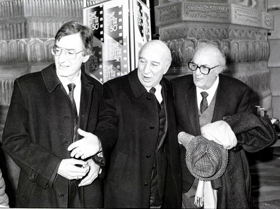 Carlo-Lizzani-Giuliano-Montaldo-e-Fellini-555x415