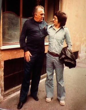 Roma 1971 - F. FELLINI e S. SPIELBERG