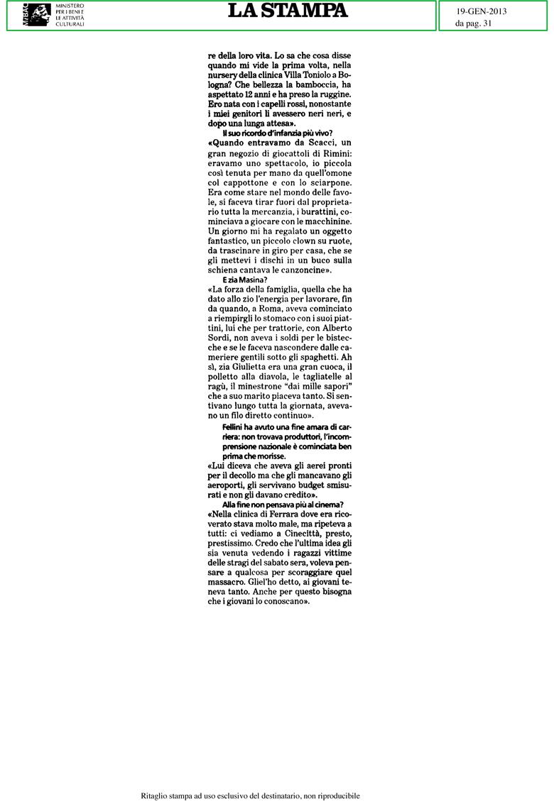La Stampa_2013-01-19_2_estratto