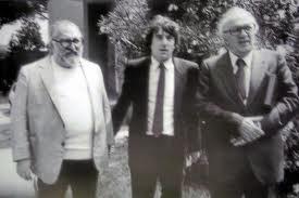 Cinecittà: Sergio Leone,Robert De Niro e Federico Fellini
