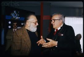 Sergio Leone e Fellini